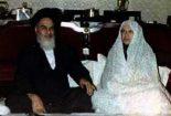 نامه عاشقانه امام خمینی به همسر