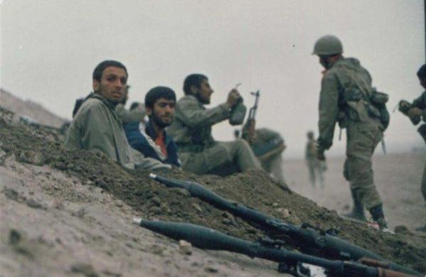 نیروهای زنجان در عملیات بدر