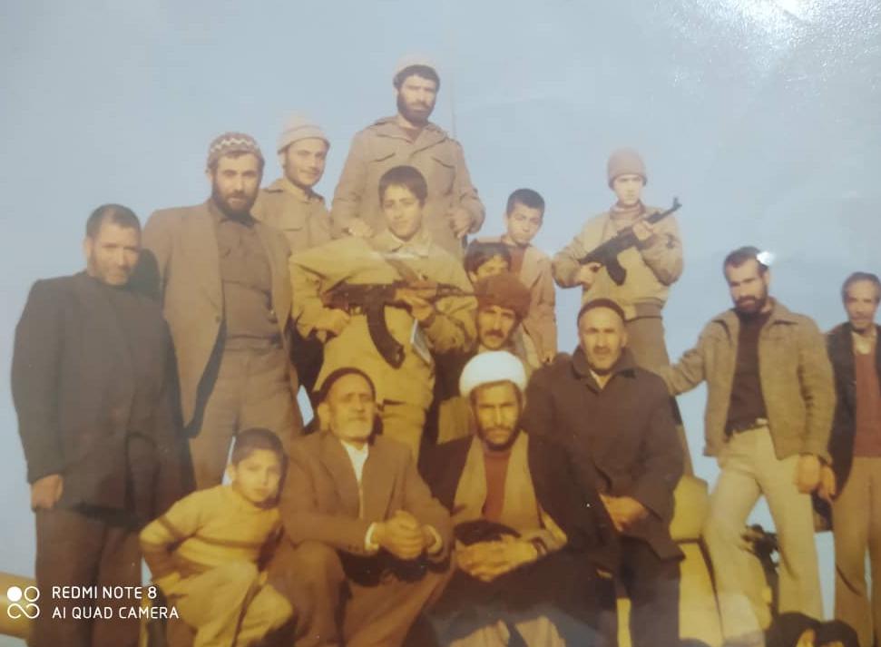 حاج باقر راشدین- سنگر تدارکات